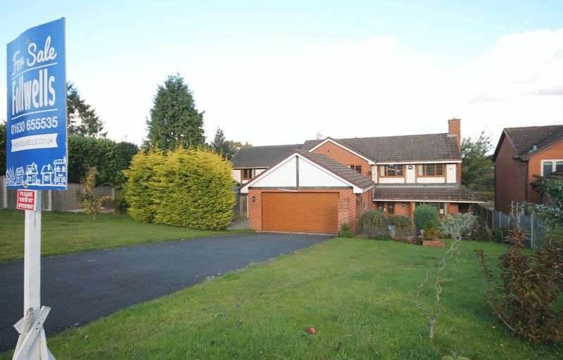5 Bedrooms Detached House for sale in Millfield Drive, Market Drayton