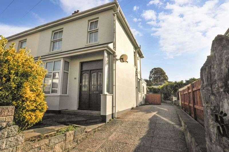 3 Bedrooms Semi Detached House for sale in Chatto Road, Torquay