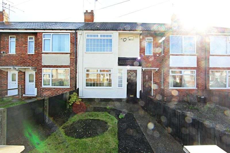 2 Bedrooms Terraced House for sale in Coronation Road South, Hull