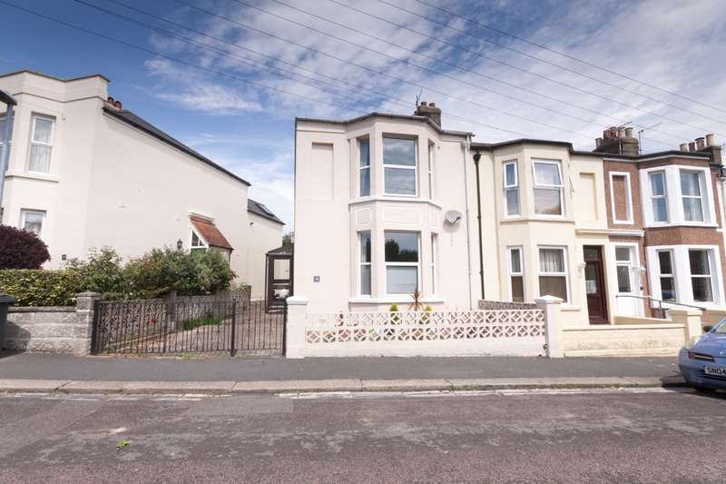 3 Bedrooms End Of Terrace House for sale in Alma Terrace, St. Leonards-on-Sea, East Sussex, TN37