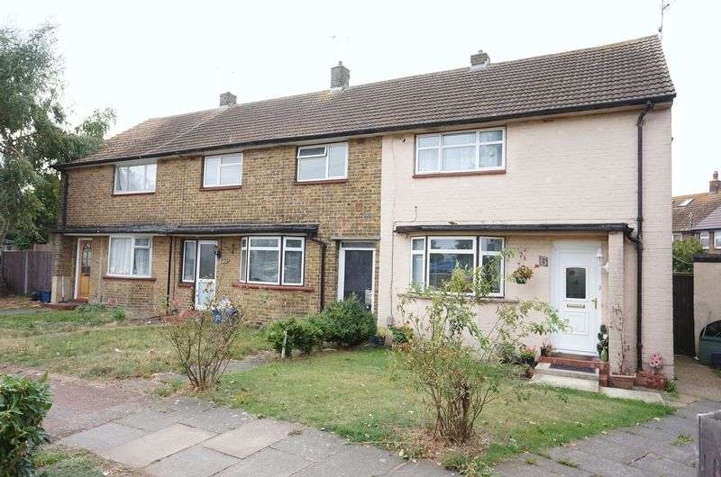 2 Bedrooms Terraced House for sale in Eldbert Close, Southend-On-Sea