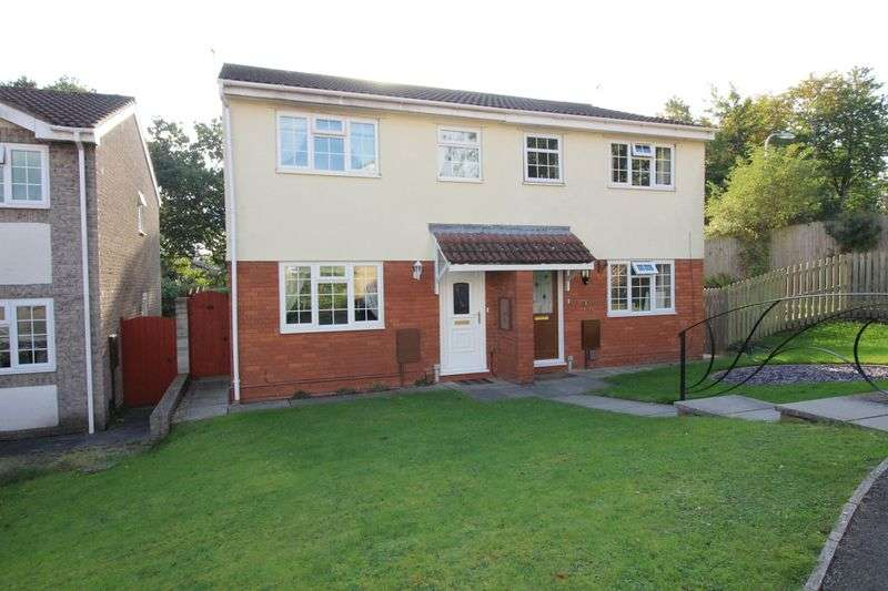 3 Bedrooms Semi Detached House for sale in St. Agnes Close, Nailsea