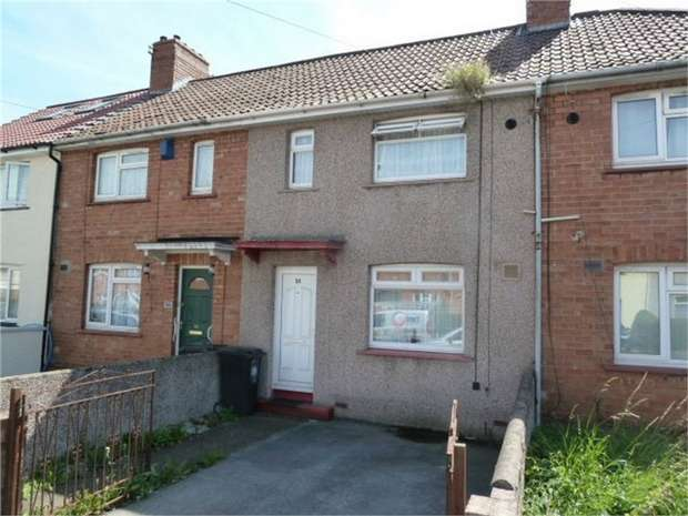 3 Bedrooms Terraced House for sale in Connaught Road, Bristol