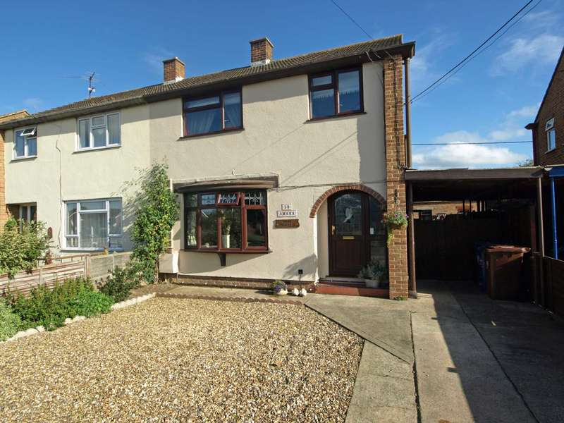 3 Bedrooms Semi Detached House for sale in Murcott Road, Upper Arncott