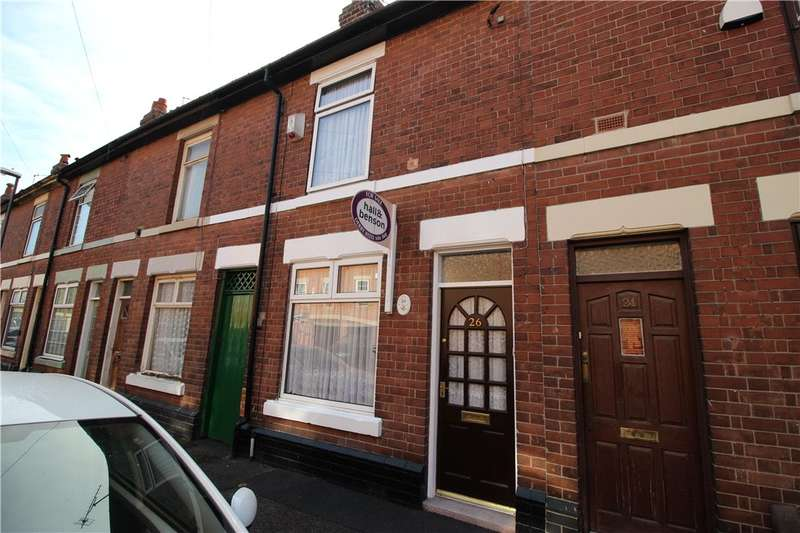 2 Bedrooms Terraced House for sale in Roman Road, Chester Green, Derby, Derbyshire, DE1