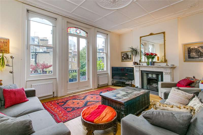 2 Bedrooms Ground Flat for sale in Stanwick Road, London, W14