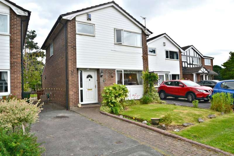 3 Bedrooms Detached House for sale in Ledge Ley, Cheadle Hulme