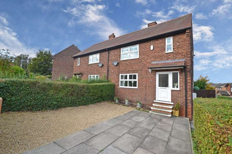 3 Bedrooms Semi Detached House for sale in Grove Crescent, Walton, Wakefield