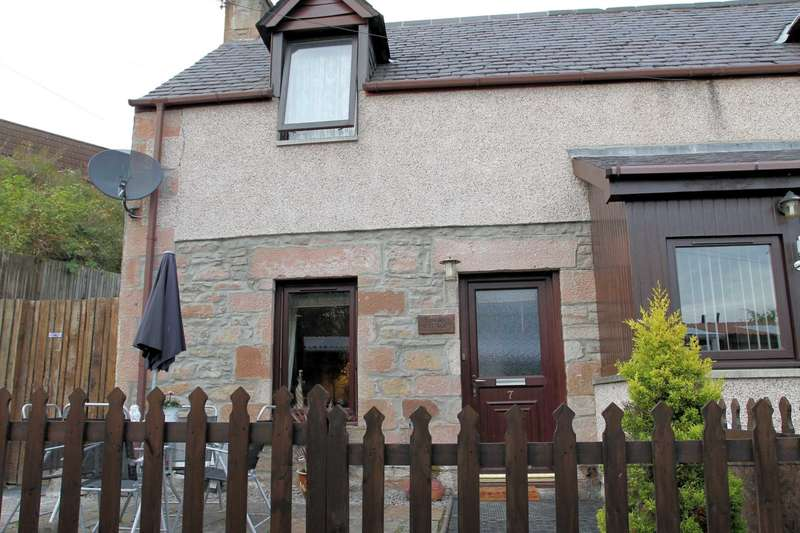 2 Bedrooms End Of Terrace House for sale in Ussie Place, Dingwall, Ross-shire