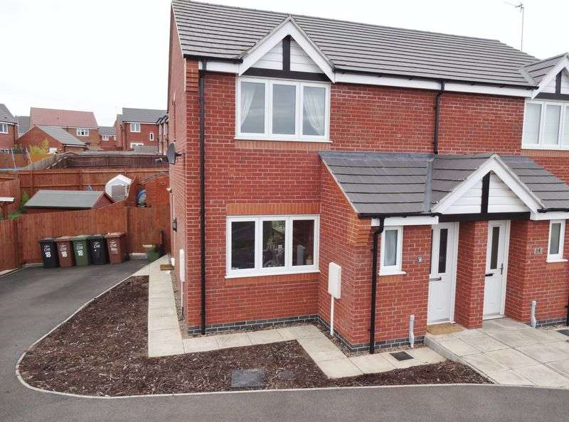 3 Bedrooms Semi Detached House for sale in Aintree Road, Corby
