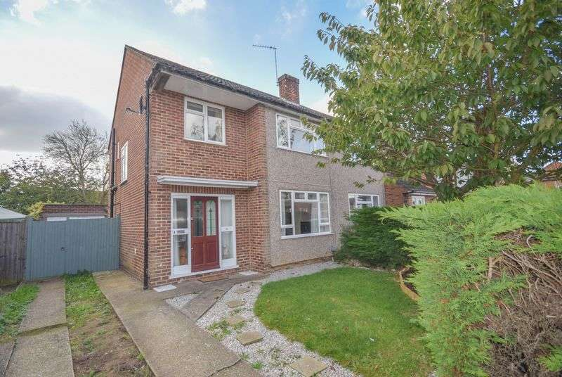 3 Bedrooms Semi Detached House for sale in Cowper Crescent, Hertford
