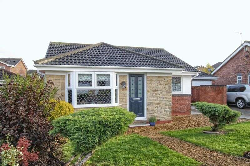 2 Bedrooms Detached Bungalow for sale in Hanbury Close, Ingleby Barwick