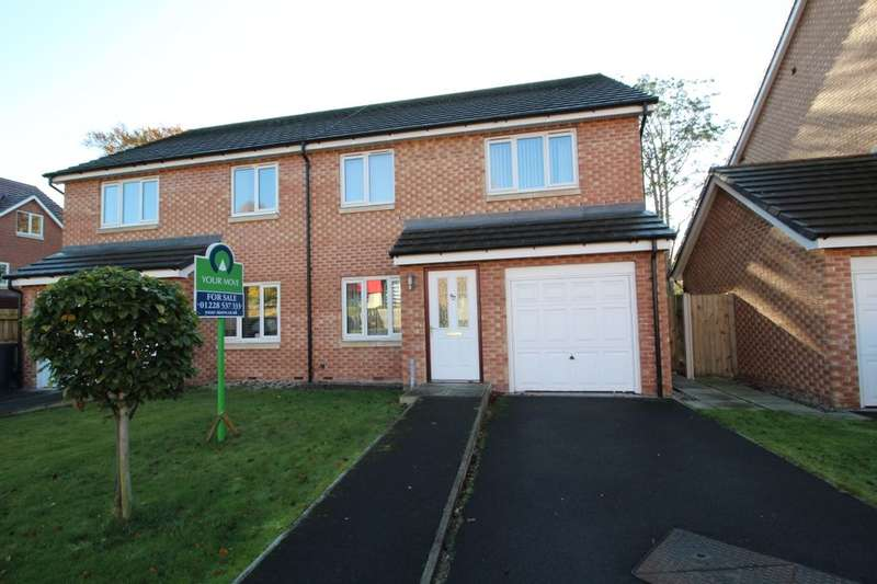 3 Bedrooms Semi Detached House for sale in Brookside, Carlisle, CA2