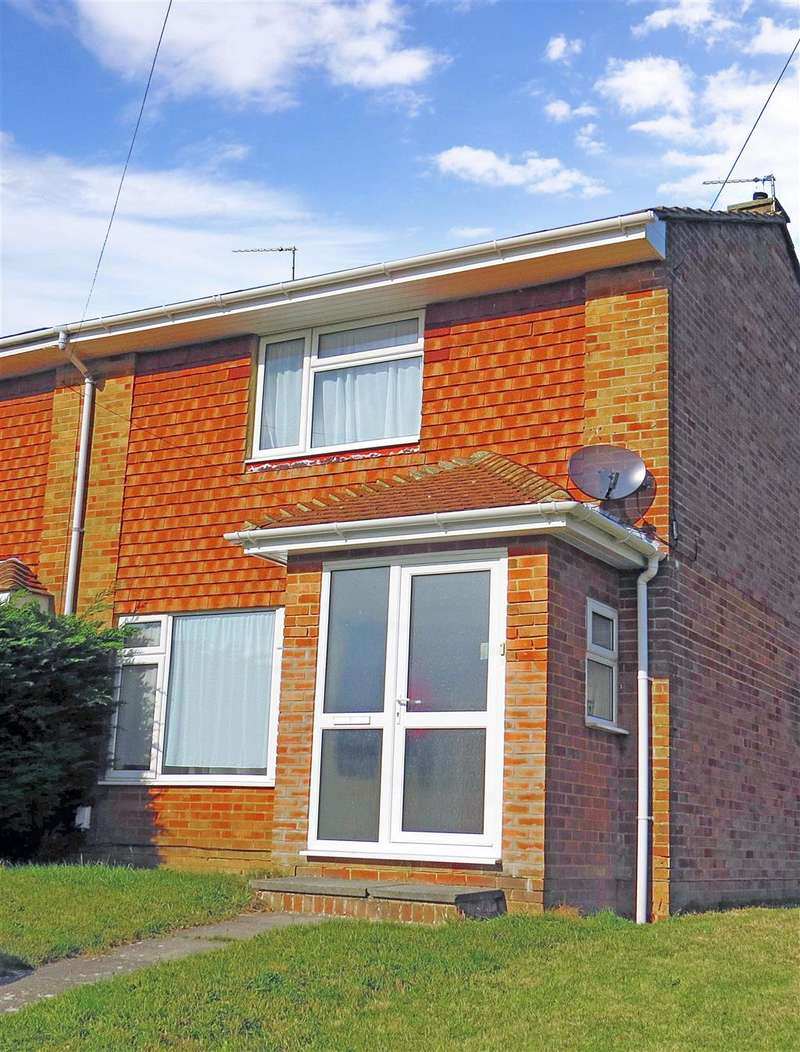 2 Bedrooms End Of Terrace House for sale in Kipling Avenue, Woodingdean, Brighton, East Sussex