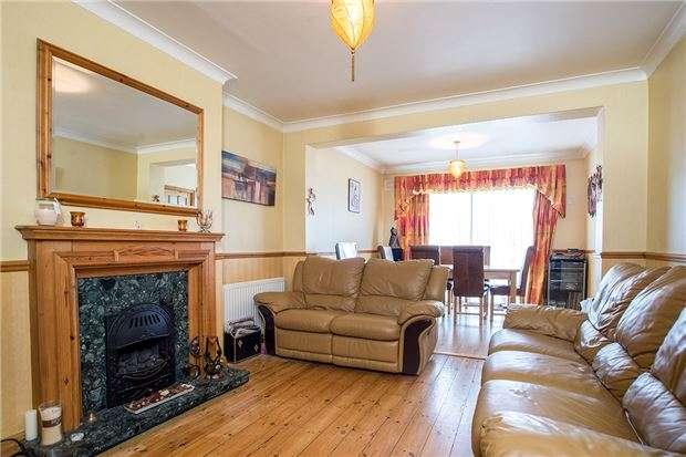 4 Bedrooms Semi Detached House for sale in Wickham Avenue, SUTTON, Surrey, SM3 8EB