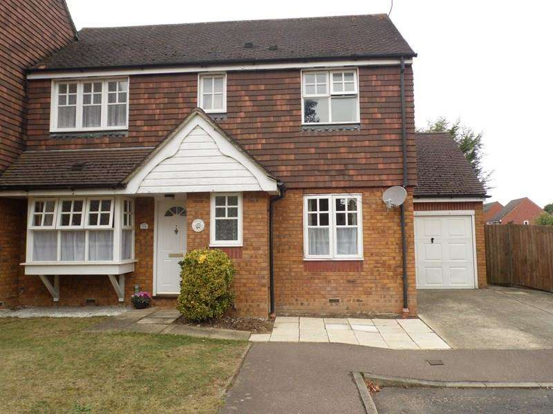 3 Bedrooms Semi Detached House for sale in Falcon Close, Rayleigh