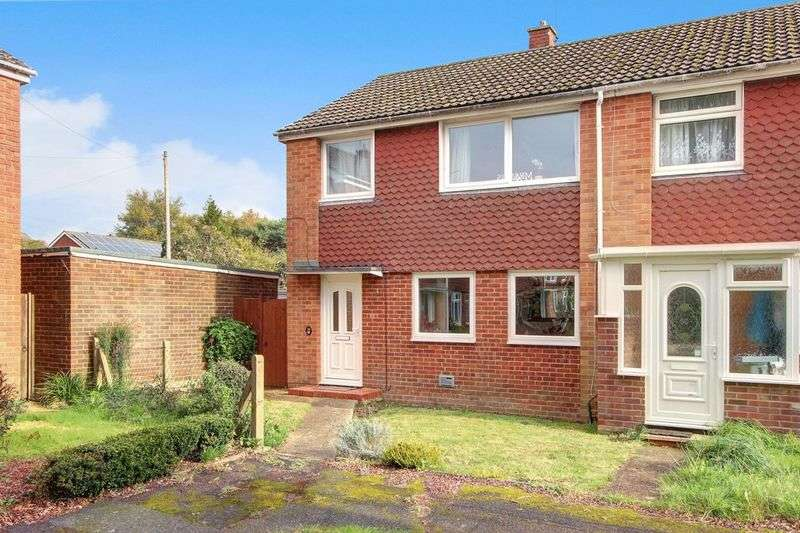 3 Bedrooms Terraced House for sale in Kinver Close, Romsey, Hampshire