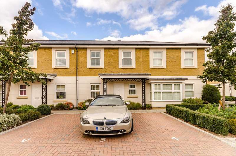 3 Bedrooms Terraced House for sale in Vallings Place, Surbiton, KT6