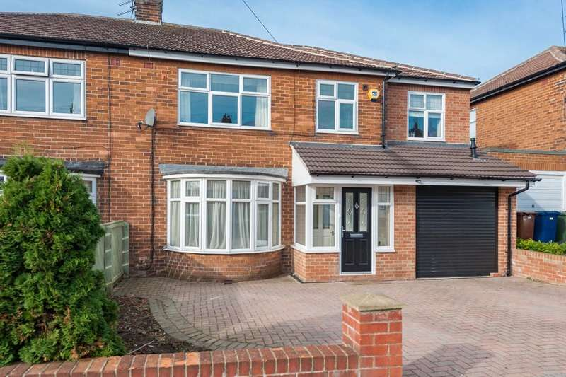 4 Bedrooms Semi Detached House for sale in Westwood Road, Brunton Park, Gosforth Park, Newcastle upon Tyne, Tyne and Wear, NE3