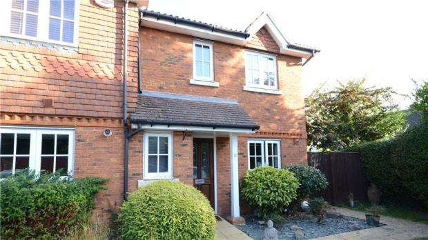 3 Bedrooms End Of Terrace House for sale in Silverstone Mews, Maidenhead, Berkshire