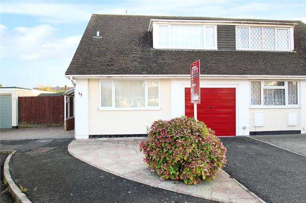 3 Bedrooms Semi Detached House for sale in Saxon Close, East Preston, West Sussex, BN16