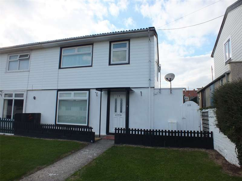 3 Bedrooms Semi Detached House for sale in Vicary Crescent, Milford Haven, Pembrokeshire