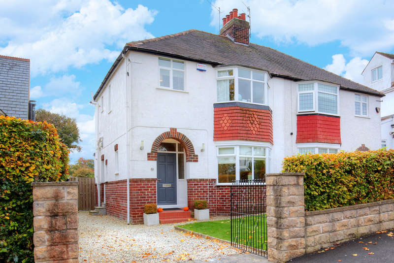 3 Bedrooms Semi Detached House for sale in 53 Chatsworth Road, Dore, S17 3QG