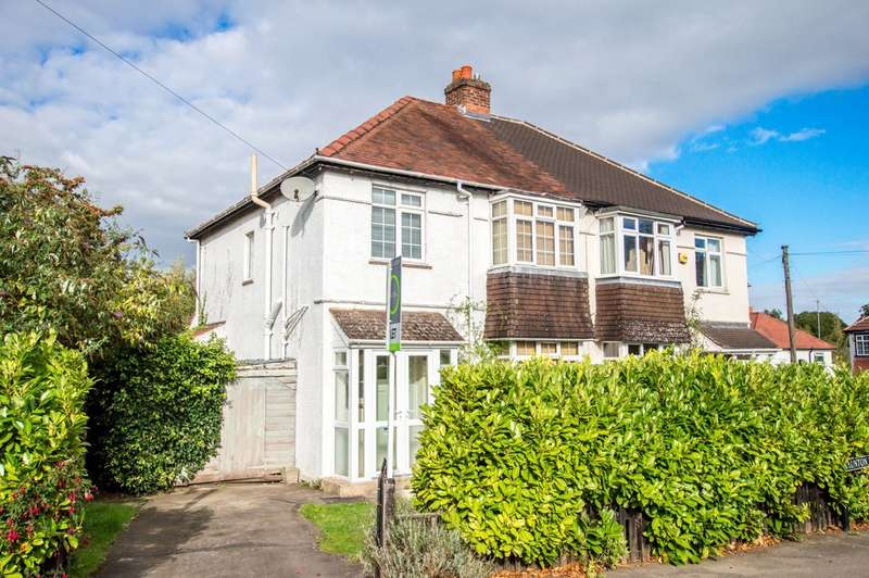 3 Bedrooms Semi Detached House for sale in Naunton Lane, Cheltenham GL53 7BH