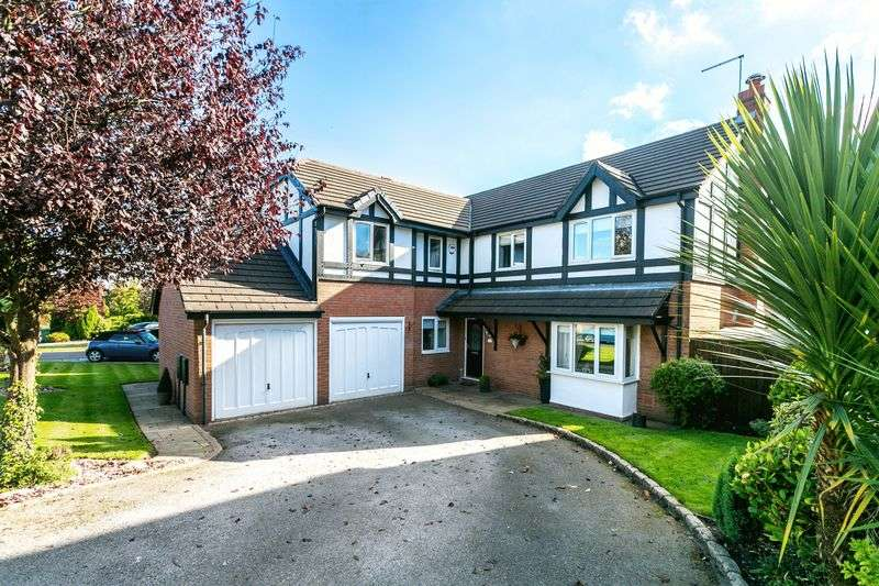 5 Bedrooms Detached House for sale in Pilgrims Way, Standish, WN6 0AJ