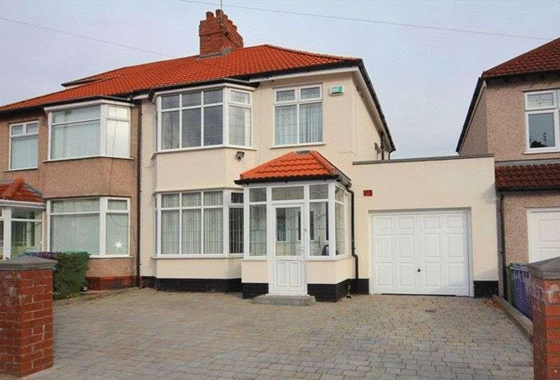 3 Bedrooms Semi Detached House for sale in Varley Road, Grassendale, Liverpool, L19