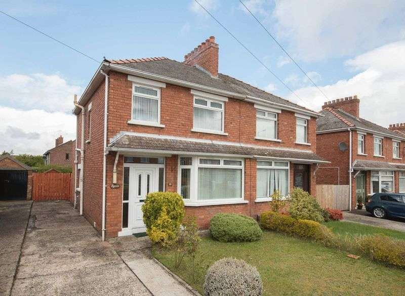 3 Bedrooms Semi Detached House for sale in 32 Mount Merrion Avenue, Belfast, BT6 0FR