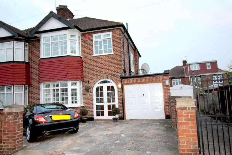 3 Bedrooms Semi Detached House for sale in Countisbury Avenue , Enfield EN1