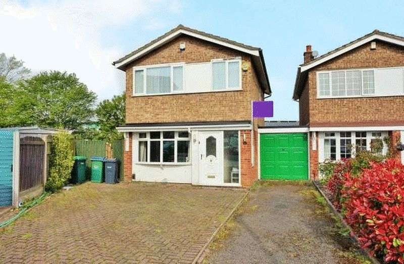 3 Bedrooms House for sale in Shelton Close, Wednesbury