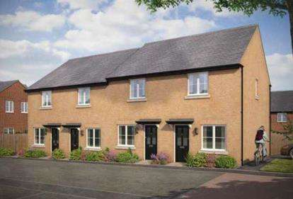 2 Bedrooms Semi Detached House for sale in Bishops Grange, Wharf Road, Higham Ferrers, Rushden