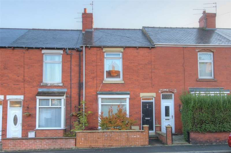 2 Bedrooms Terraced House for sale in West Terrace, Spennymoor, County Durham, DL16
