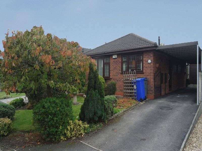 3 Bedrooms Detached Bungalow for sale in Longsdon Grove, Meir Hay, Stoke-On-Trent, ST3 5UU
