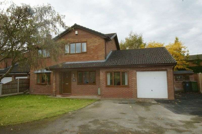 4 Bedrooms Detached House for sale in Grange Court, Cross Lanes, Wrexham