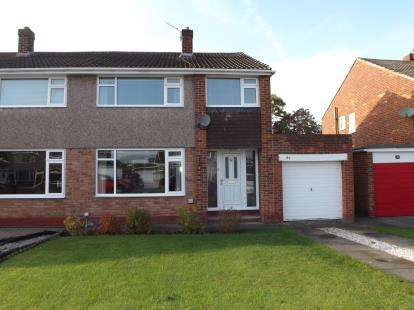 3 Bedrooms Semi Detached House for sale in Butterfield Drive, Eaglescliffe, Stockton On Tees