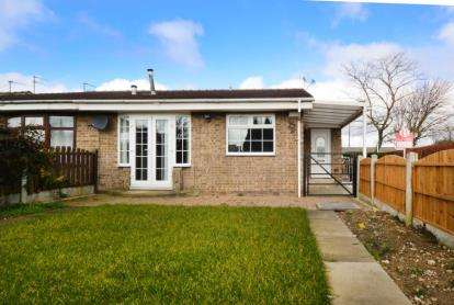 1 Bedroom Bungalow for sale in Fleming Way, Flanderwell, Rotherham, South Yorkshire