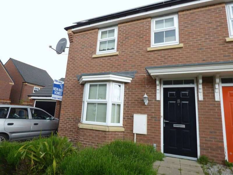 3 Bedrooms Semi Detached House for sale in Nashville Drive, Warrington