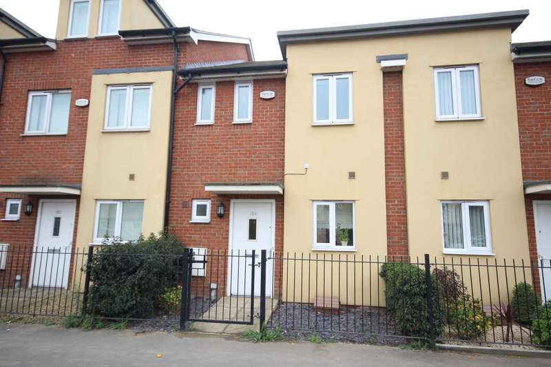 3 Bedrooms Terraced House for sale in Bicester Road, Aylesbury