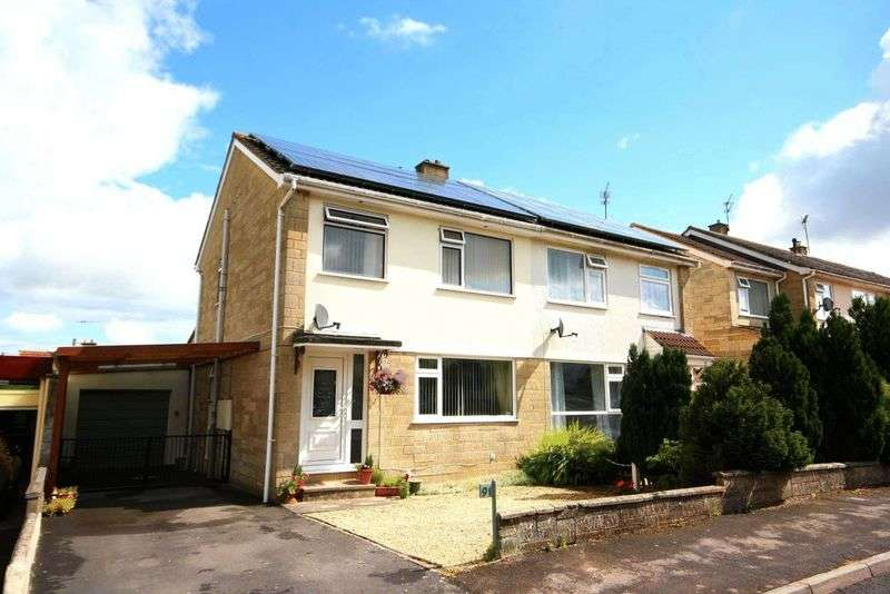 3 Bedrooms Semi Detached House for sale in High Meadows, Midsomer Norton