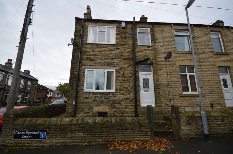 3 Bedrooms End Of Terrace House for sale in Cross Ryecroft Street, Ossett