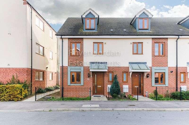 3 Bedrooms Terraced House for sale in Poppy Avenue, Broughton, Milton Keynes