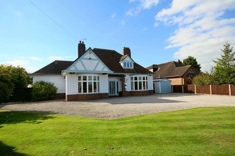 4 Bedrooms Detached Bungalow for sale in Pipe Gate, Market Drayton