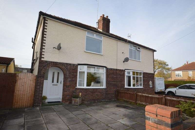 3 Bedrooms Semi Detached House for sale in Brookdale Avenue North, Greasby