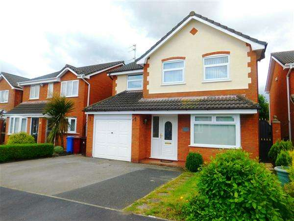 4 Bedrooms Detached House for sale in Serenade Road, Kirkby
