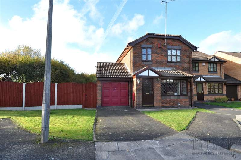 3 Bedrooms Detached House for sale in Birchdale Close, Greasby, Wirral