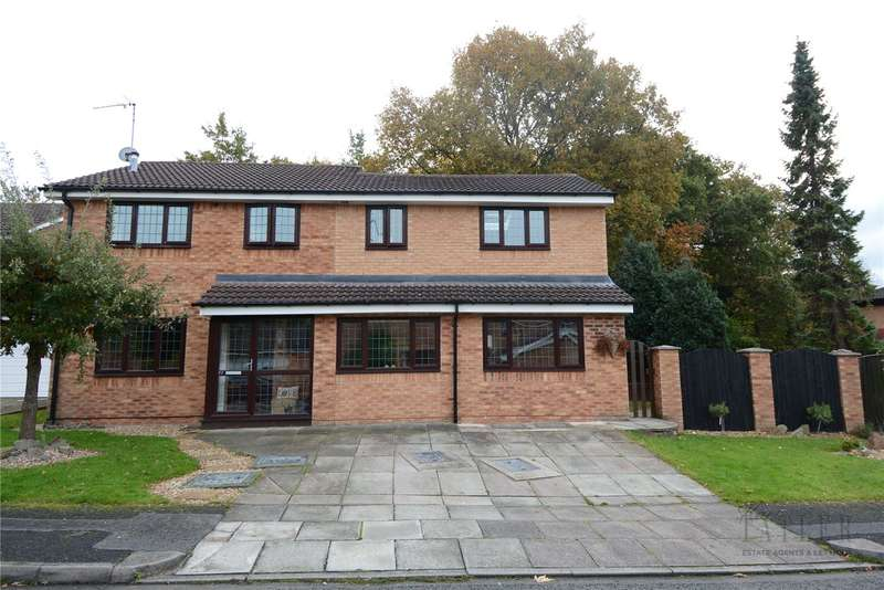 4 Bedrooms Detached House for sale in The Limes, Upton, Wirral