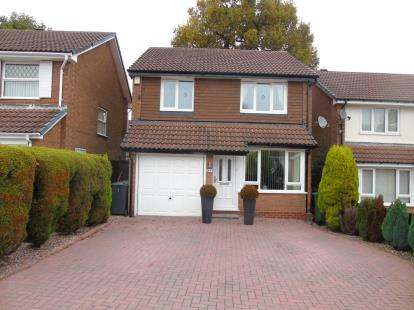 3 Bedrooms Detached House for sale in Holly Dell, Kings Norton, Birmingham, West Midlands
